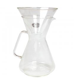 Kaffeebereiter aus Glas für 8 Tassen - 1 Stück - ah table !