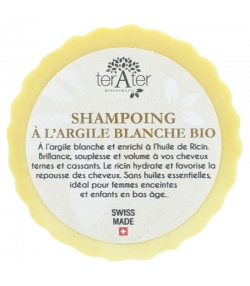 Shampooing BIO à l'argile blanche - 70g - terAter
