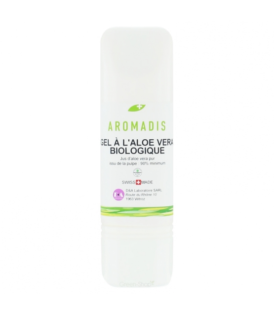 Gel aloe vera BIO - 100ml - Aromadis