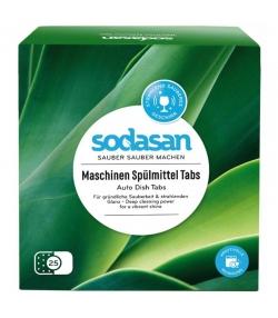 Tablettes lave-vaiselle écologique - 25 lavages - 625g - Sodasan
