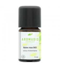 Huile essentielle BIO Baies rose - 5ml - Aromadis