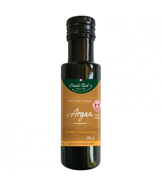 Huile d'argan vierge BIO - 100ml - Emile Noël