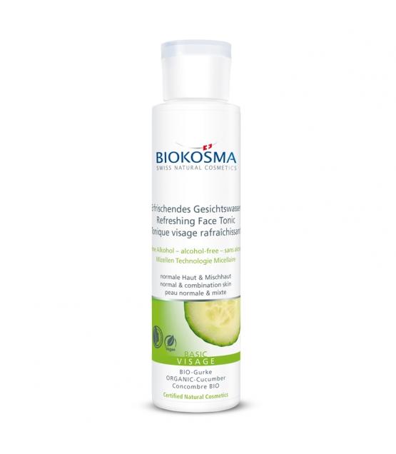 Tonique visage rafraîchissant BIO concombre - 150ml - Biokosma Basic