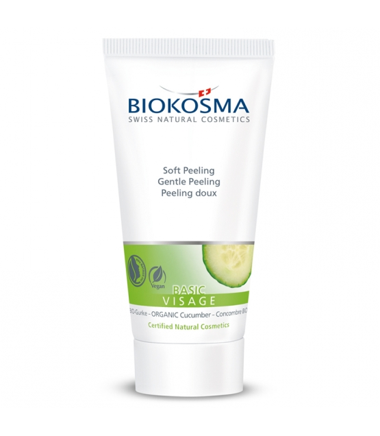 Soft BIO-Peeling Gurke - 50ml - Biokosma Basic