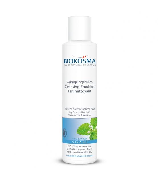 BIO-Reinigungsmilch Zitronenmelisse – 150ml – Biokosma Sensitive