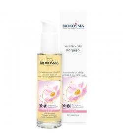Huile corporelle bienfaisante BIO rose musquée - 100ml - Biokosma