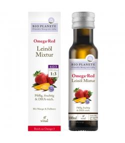 Omega Red mélange d'huile de lin BIO - 100ml - Bio Planète