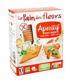 Knusprige Apéro Tomaten & Paprika BIO-Schnitten  - 150g - Le pain des fleurs
