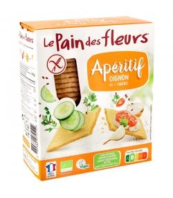 Tartines craquantes apéritif oignon BIO - 150g - Le pain des fleurs