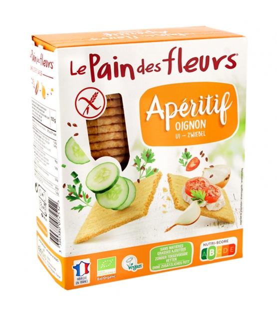 Knusprige Apéro Zwiebel BIO-Schnitten  - 150g - Le pain des fleurs