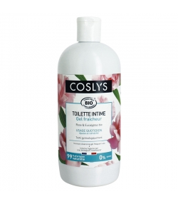 Gel fraîcheur toilette intime BIO rose & eucalyptus - 500ml - Coslys