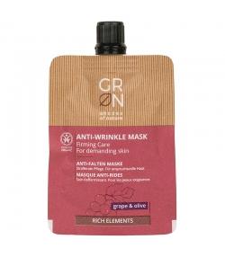 Masque anti-rides BIO raisin & olive - 40ml - GRN Rich Elements
