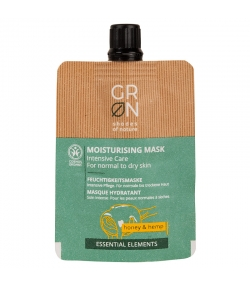 Masque hydratant BIO miel & chanvre - 40ml - GRN Essential Elements