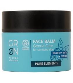 Baume visage doux BIO myrtille & sel marin - 50ml - GRN Pure Elements