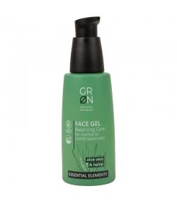 Gel visage équilibrant BIO aloe vera & chanvre - 50ml - GRN Essential Elements