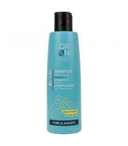 Anti-Fettend BIO-Shampoo Zitronenmelisse & Meersalz - 250ml - GRN Pure Elements