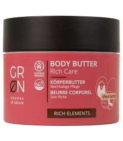 Beurre corporel riche BIO beurre karité - 200ml - GRN Rich Elements