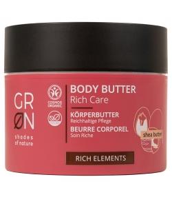 Beurre corporel riche BIO beurre karité - 200ml - GRN Rich Elements