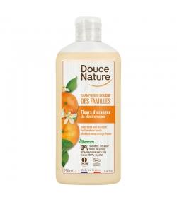 BIO-Dusch-Shampoo für die Familie Orangenblüten - 250ml - Douce Nature