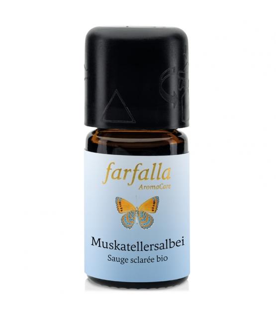 Ätherisches BIO-Öl Muskatellersalbei - 5ml - Farfalla