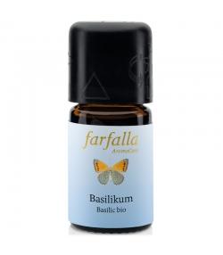 Huile essentielle BIO Basilic - 5ml - Farfalla