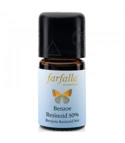 Ätherisches BIO-Öl Benzoe Resinoid – 5ml – Farfalla
