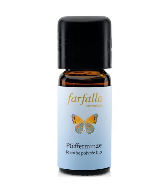 Huile essentielle BIO Menthe poivrée - 10ml - Farfalla