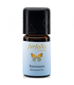 Huile essentielle BIO Ravintsara – 5ml – Farfalla