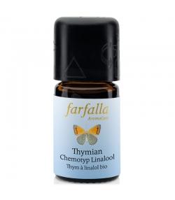 Ätherisches BIO-Öl Thymian Chemotyp Linalol – 5ml – Farfalla