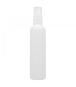 Flacon en plastique blanc 100ml avec spray et bouchon transparent - 1 pièce - Aromadis