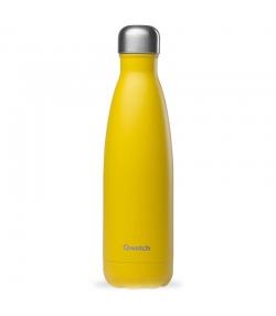 Bouteille isotherme en inox pop jaune - 500ml - 1 pièce - Qwetch Pop