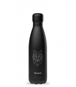 Bouteille isotherme en inox tattoo loup - 500ml - 1 pièce - Qwetch  Animal Tattoo