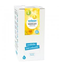 Liquide vaisselle écologique citron - 5l - Sodasan
