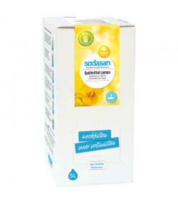 Ökologisches Hand-Spülmittel Zitrone - 5l - Sodasan