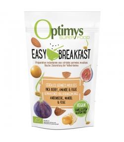 BIO-Easy Breakfast gemahlene Cerealienkeimlinge Inkabeeren, Mandeln & Feigen - 350g - Optimys