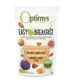 Easy Breakfast céréales germées moulues inca berry, amande & figue BIO - 350g - Optimys