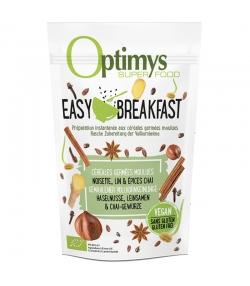 BIO-Easy Breakfast gemahlene Cerealienkeimlinge Haselenuss, Leinsamen & Chai-Gewürze - 350g - Optimys