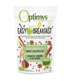 Easy Breakfast céréales germées moulues noisette, lin & épices chaï BIO - 350g - Optimys