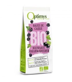 Baies de cassis BIO - 180g - Optimys