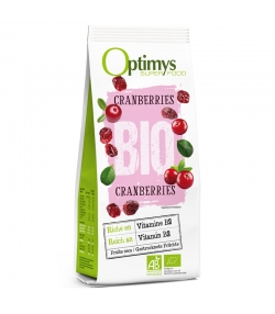 Cranberries BIO - 200g - Optimys