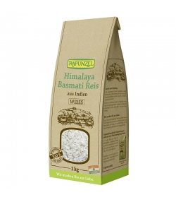 Riz basmati blanc Himalaya BIO - 1kg - Rapunzel