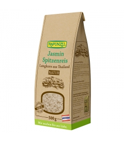 Riz jasmin long grain BIO - 500g - Rapunzel