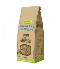 Mélange de riz avec du riz sauvage BIO - 500g - Rapunzel