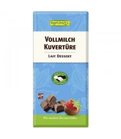 BIO-Vollmilch Kuvertüre - 200g - Rapunzel