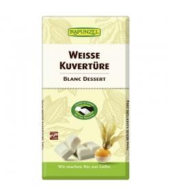 BIO-Weisse Kuvertüre - 200g - Rapunzel