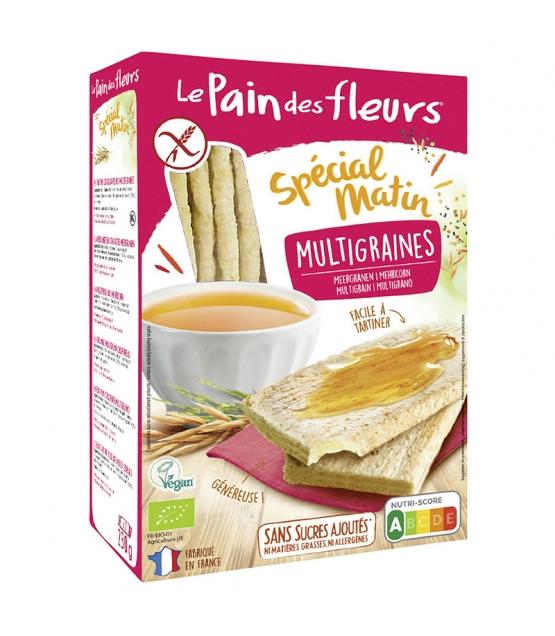 Knusprige BIO-Mehrkorn-Schnitten Spécial matin  - 230g - Le pain des fleurs