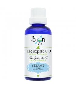 Huile végétale de sésame BIO - 50ml - Potion & Co