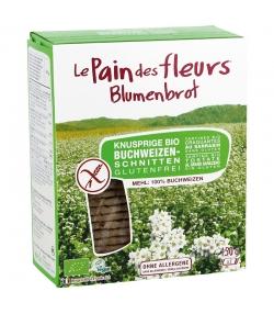 Tartines craquantes au sarrasin BIO – 150g – Le pain des fleurs