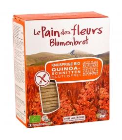 Tartines craquantes au quinoa BIO – 150g – Le pain des fleurs