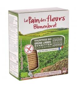 Tartines craquantes aux lentilles vertes BIO - 150g - Le pain des fleurs